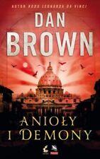 Anioły i demony - Dan Brown Wysyłka z UK polska książka