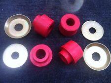 65-80 FORD F100 PARTS CASTER RADIUS ARM BUSH KIT  (  F250 F350 ) 65-80 RED