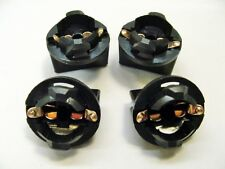 4 Pontiac 168 Instrument Panel Cluster Light Bulb Lamp Dashboard Socket Plug NOS