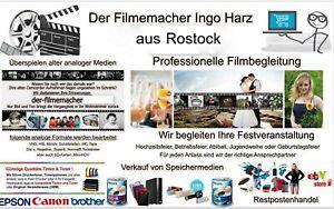 Super 8 digitalisieren überspielen auf DVD oder USB-Stick 180m Film Ø 21cm