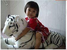 90cm/35'' Giant stuffed animal toys white south china tiger plush Toy Doll gift