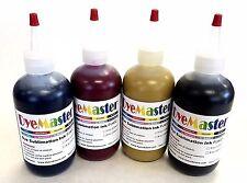 DyeMaster Sublimation Ink, CMYK Combo Pack, 8 oz. (240ml) x 4 bottles