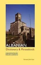 Albanian-English / English-Albanian Dictionary and Phrasebook by Ramazan John Hysa (Paperback, 1999)