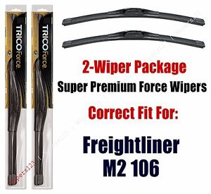 Wipers 2-Pack Hi-Performance fits 2001-2018 Freightliner M2 106 - 25220x2