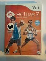 EA ACTIVE 2 - WII - COMPLETE W/  MANUAL - FREE S/H - (T10)