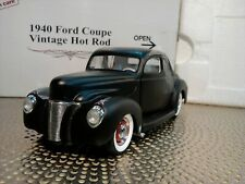 Danbury Mint 1940 Ford Coupe.Rare Vintage Hot Rod.1:24.Nib.Undisplayed