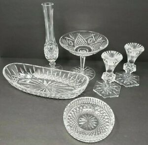 Waterford Crystal LOT of 6 Pieces Lismore Chatham Colleen Giftware