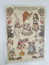 Antique Replica Alice in Wonderland Paper Dolls Original John Tennial Drawings