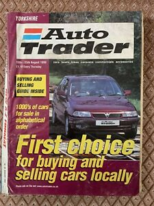Yorkshire Auto Trader 1999 August 19-25 Huge Edition