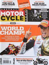 Australian Motorcycle News Vol 64 No 8 16 - 29 October 2014 20% Bulk Discount