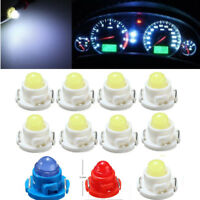 10x T4.7/T5 LED SMD Cockpit Tacho Beleuchtung Lampe Birne Weiß Blau Rot Lampe