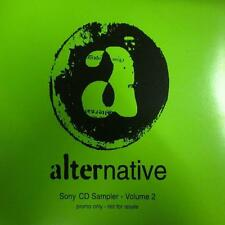 Various Alt Rock(CD Single)Alternative Sony CD Sampler Volume 2-XPCD 11-New