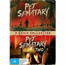Pet Sematary / Pet Sematary Two (DVD, 2019, 2-Disc Set)