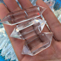 Natural Clear Point Quartz White Crystal Raw Stone Terminated Wand Specimen