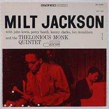 MILT JACKSON w/ THELONIOUS MONK, LOU DONALDSON: Blue Note81509 Vinyl LP NM-