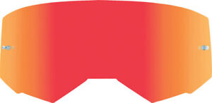 Fly Racing Kids Zone/Focus Goggle Lens   Red Mirror/Clear (with Tear-Off Posts)