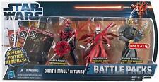 Star Wars Battle Pack DARTH MAUL RETURNS Nightsister Savage Opress
