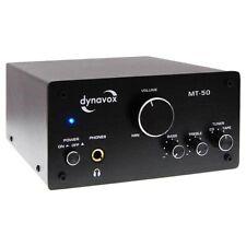 Dynavox MT-50 HiFi Verstärker Schwarz Stereo Mini Vollverstärker High End Amp