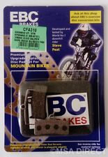 Shimano XT Deore (M755) EBC Resin Mountain Bike Disc Brake Pads (CFA310) (1 Set)