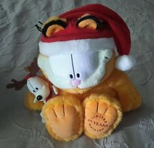 """Macy's Limited 25 Years Edition Plush/Garfield w/Odie attached 19"""" stuffed cat"""