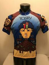 TOSRV 2010 Mayan Pyramid Colorful Voler Cycling Jersey Mens size Large