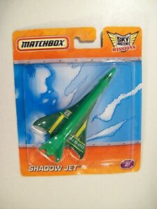 NEW MATCHBOX SKY BUSTERS MISSIONS SHADOW JET DIE-CAST HYPERSONIC PLANE F15-20