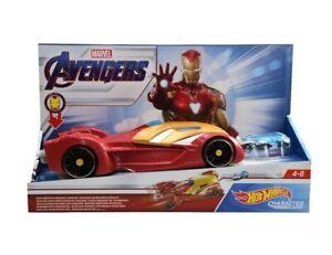 HOT WHEELS Marvel Avengers IRON MAN Repulsor Blast Launcher NEW