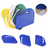 BG_ HX- Letter Opener Safe Guarded Plastic Stainless Steel Blade Envelope Cutter