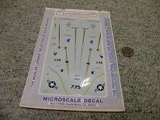 Microscale  decals 1/72 72 - 539 TA-4J USN 75th Anniversary Naval Aviation G125