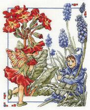 DMC The Polyanthus and Grape Hyacinth Faries Cross Stitch Kit BL789