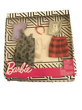 Barbie Plaid Polar Bear Outfit Fashion Pack with Accessories New/box Damage