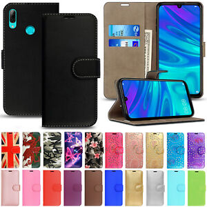 FLIP WALLET CASE STAND COVER FOR HUAWEI P20 LITE P30 PRO P40 LITE P SMART 2019
