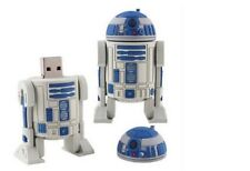 8GB R2D2 Star Wars USB 2.0 Pen Drive Flash Memory Stick NUOVO R2 D2 8 GB Robot