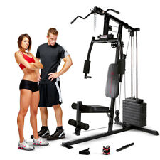 Marcy Club Home Gym MKM-1101 Best Lat Arm Press Weight Exercise Cable Machine