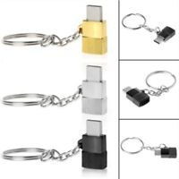 Micro USB Female to Type C Male Converter USB-C Adapter Converter Adaptor