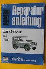 Landrover Typ 88 / Typ 109 4+6 Zylinder Reparaturanleitung Handbuch