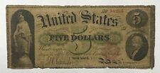 1862 $5 Legal Tender Large Note