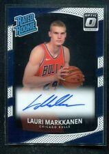 2017-18 Optic LAURI MARKKANEN Rookie RC Auto Autograph Rated Rookie