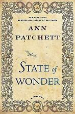 State of Wonder Patchett, Ann Hardcover