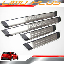 Stainless Steel Scuff Plates Door Sill Sills for VW Tiguan 2007 - 2015 vw36