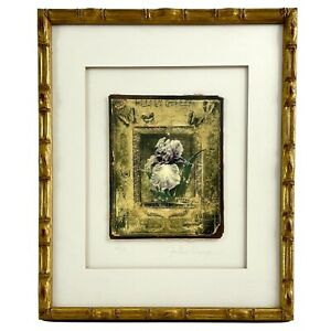 JOHN CHENG Signed & Numbered Iris Collage Art Print 13/25