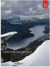 NEW Adobe Photoshop Lightroom 6 FREE SHIPPING