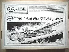 "MPM 1/48 Heinkel He177 A3 ""Greif"""