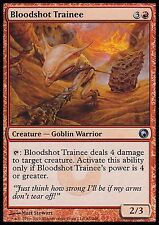 Bloodshot Trainee X4 EX/NM Scars Of Mirrodin MTG Magic Cards Red Uncommon