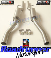 Milltek Exhaust Audi S4 B6 & S4 B7 Resonated Centre Sections MSAU177 & MSAU178