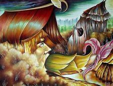 Original Art Painting Oil Canvas Cuban Art Arte Cuba YOANDRIS PEREZ BATISTA 10