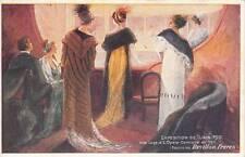 A6700) ABBIGLIAMENTO, LA PELLICCERIA REVILLON FRERES, ESPOSIZIONE DI TORINO 1911