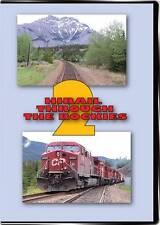 Hirail Through the Rockies Vol 2 DVD NEW Highball Canadian Pacific CP Highrail