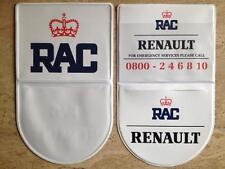 VINTAGE RETRO RAC TAX DISC HOLDER RENAULT CLIO WILLIAMS,5 GT TURBO,ALPINE v6