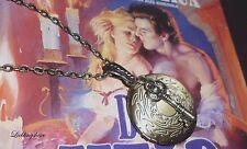 Vintage,medallion,schlüssel photo locket foto kette nostalgie retro key Schloss